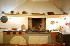 Ancient stone kitchen