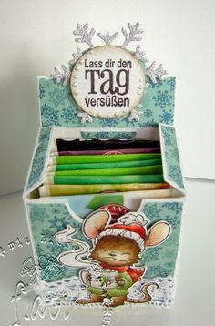 ♥ Flati s Stempelwelt ♥: Teeschachtel freebie