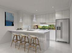 Small and Co Portfolio, Ascot Terraces 3D Render - Kitchen