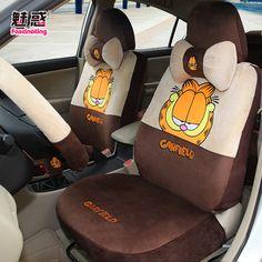 Charm car seat cover feng fei le wei sun MG3 lion run mentally run Garfield grey car seat cover