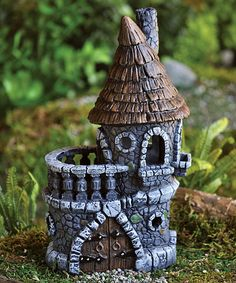 Castle Mini Figurine by Georgetown Home and Garden