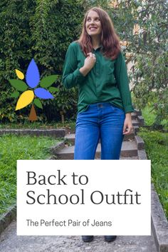 Back To School Outfit The Perfect Pair of Jeans Back To School Outfits, I'm Happy, Body Types, Personal Style, Pairs, Fashion Outfits, Jeans, How To Wear, Collection