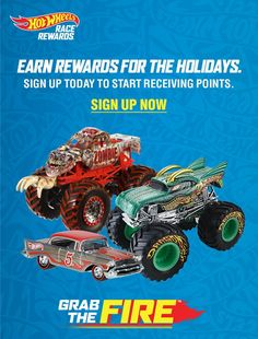 Hot Wheels Grab the Fire - Buy Hot Wheels & Earn Race Rewards for the Holidays! #HotWheels #RaceRewards #Holidays #ad