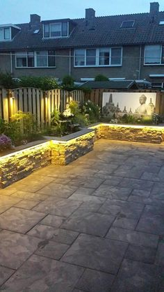 If you are looking for the best garden design, you have come to the right place. Landscaping Retaining Walls, Front Yard Landscaping, Backyard Patio, Small Front Gardens, Back Gardens, Landscape Design, Garden Design, Stone Planters, Side Garden