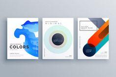 abstrakcyjna kreatywnych biznesowych broszura szablon wektora projektu Darmowych Wektorów