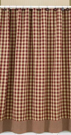 Country Shower Curtains | Shower Curtains - Becky's Country Candles & Primitives