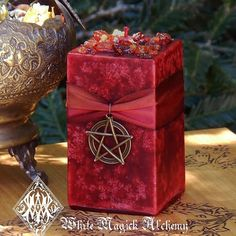 Haunted Harvest Heartwood Candles for Samhain