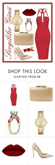"""Untitled #46"" by ahu-ceren-turker on Polyvore featuring Topshop, Kayu, Kate Spade, Gianvito Rossi, women's clothing, women, female, woman, misses and juniors"