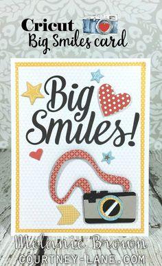 Cricut Big Smiles Card