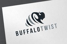 Buffalo Twist Logo by emotions76 on @creativemarket