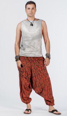 Мужская безрукавка, ChintaMani, мужская майка , этнический стиль, одежда для йоги, man`s yoga shirt. 2120 рублей