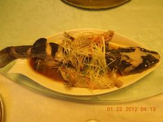 Steamed whole fish 蒸鱼