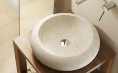Fiji, Beige, Stone, Basins, Home Decor, Products, Countertops, Bathroom Sinks, Rock