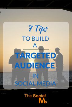 Without an audience, your social media activity is likely to get very frustrating. But you have the power to actively grow a targeted audience.