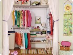 Nice cute kids closets