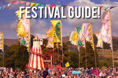 Check out We Are Cardiff guide to the summer's festivals! This is our hand-picked list of the best, easy-reach festivals from Cardiff and south Wales.