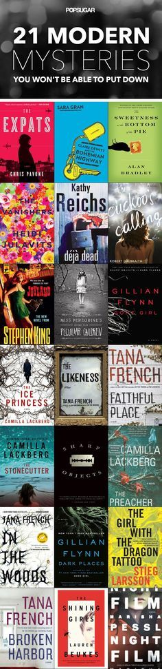 The hottest, scariest mystery, thriller, and crime books!