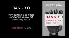 With rapid shifts in consumer behavior and the contextualization of banking, the concept of the 'bank' as a place is starting to be challenged. In this brief video Brett King, author of the new bestseller BANK 3.0, discusses how the split between the traditional banking system and the way consumers will access bank products and services will become increasingly evident in the short-term.
