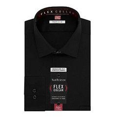 Van Heusen® Men's Long Sleeve Fitted Dress Shirt