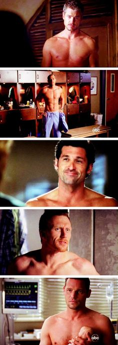 Shirtless men of Grey's Anatomy ; Greys Anatomy Funny, Grays Anatomy Tv, Grey Anatomy Quotes, Greys Anatomy Workout, Orphan Black, Grey Quotes, Sad Quotes, Dark And Twisty, Youre My Person