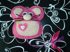 . guarda dientes para el ratoncito perez con fieltro