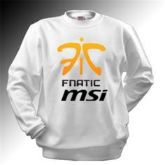 Ti5 dota 2 team Fnatic sweatshirt for boys LOL League of Legends pullover