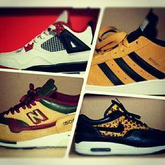 Jordan's, New Balance, Adidas & Nike AM1 Beast pack.