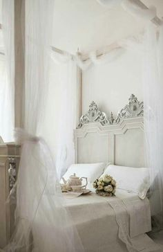 Beautiful and charming master bed.❤️