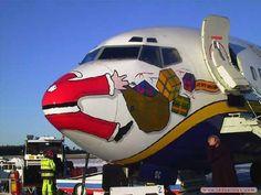 Poor children who're gonna think that Santa got murdered