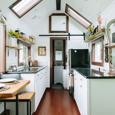 """The Turtle Tiny House - A Tiny House with a Bedroom! 