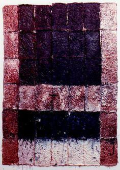 D-1.Nov.1991paper making, collage, mixedmedia painting林孝彦 HAYASHI Takahiko 1991