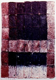 D-1.Nov.1991 paper making, collage, mixedmedia painting 林孝彦 HAYASHI Takahiko 1991