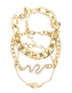 snake charmer bracelet set