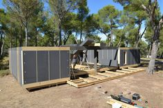 Pop-Up House: the affordable passive house. Four days and a wireless screwdriver are all you need to build the structure of a Pop-Up House. ...