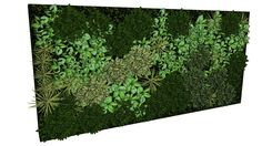 Large preview of 3D Model of moss vegetation