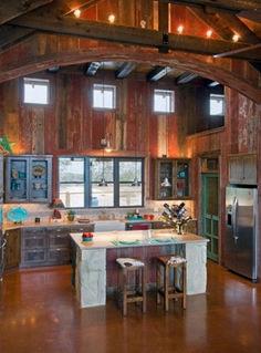 Awesome Barn Style Interior Design Idea (5)