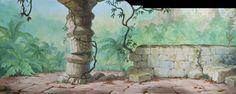 Disney: Background, The Jungle Book Book Background, Disney Background, Animation Background, Background Designs, Environment Concept, Environment Design, Disney Pixar, Walt Disney, Landscape Concept