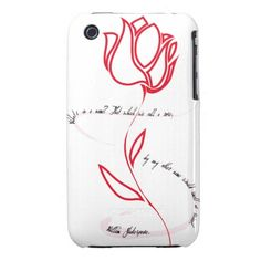 Love Words iPhone 3 Case-Mate Cases