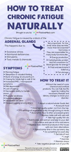 natural treatments for chronic fatigue and adrenal fatigue