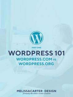 Wordpress 101 Part 1