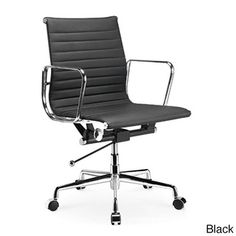 Manhattan Comfort Metro Mid-Back Adjustable Office Chair | Overstock.com Shopping - Great Deals on Office Chairs