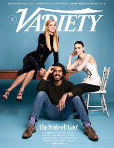 """Dev Patel, Rooney Mara and Nicole Kidman for Variety """