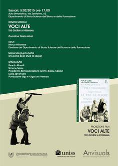 """Renato Morelli """"Voci alte: tre giorni a Premana"""""""