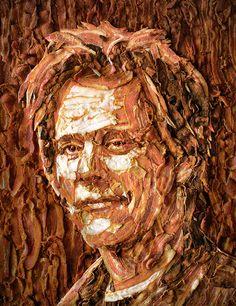 Kevin Bacon bacon art