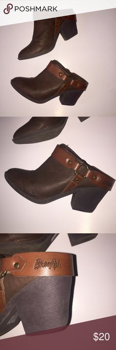 {Blowfish} Western Style Clogs Size 7.5 Size 7.5 women's. No rips, holes or stains. Well loved but still have life left! Blowfish Shoes Mules & Clogs