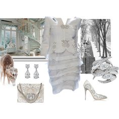 """""""Marchesa Pearl Valentina Shoulder Bag"""" by lawoffice on Polyvore"""