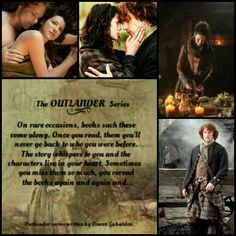 My thoughts on the Outlander books by Diana Gabaldon.