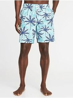 d336ec504  16.97 - Printed Swim Trunks for Men (8