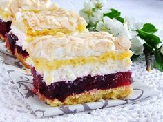 To ciasto jest bardzo pyszne. Polish Desserts, Polish Recipes, Sweet Recipes, Cake Recipes, Dessert Recipes, Ukrainian Recipes, Different Cakes, Food Cakes, Coffee Cake