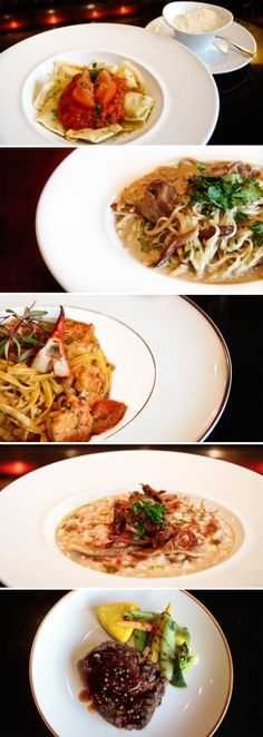 Tasty dishes from the Ritz Bar
